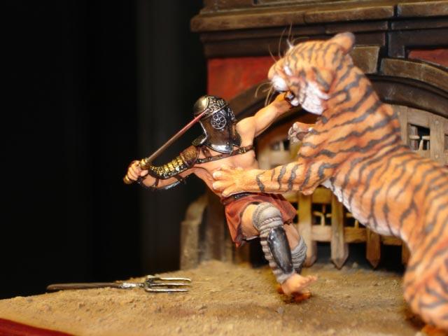 Dioramas and Vignettes: Gladiators, photo #4
