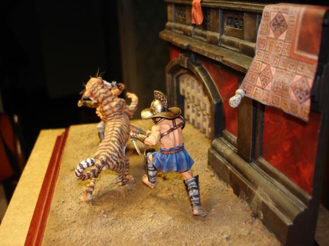 Dioramas and Vignettes: Gladiators, photo #5