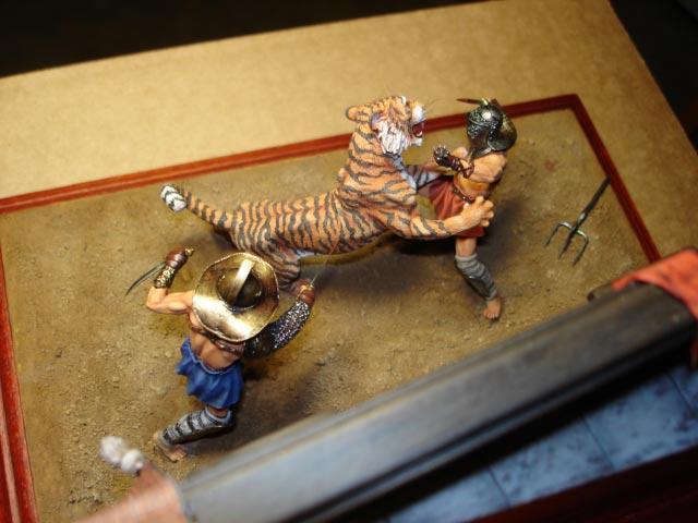 Dioramas and Vignettes: Gladiators, photo #6
