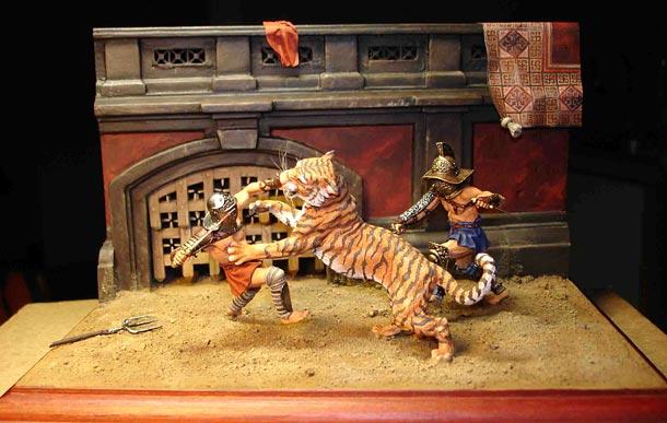 Dioramas and Vignettes: Gladiators