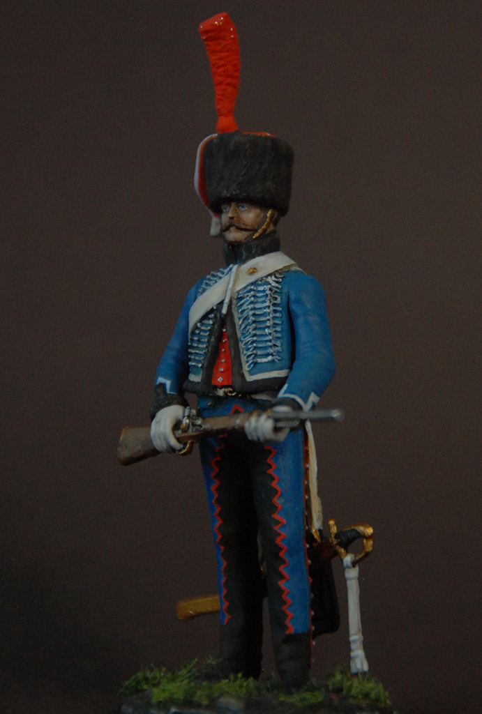 Figures: French hussar, elite coy, 8th regt., 1808, photo #2
