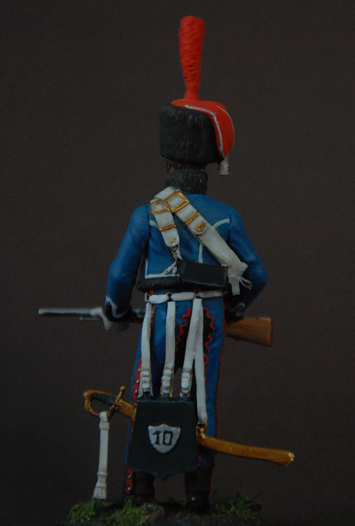 Figures: French hussar, elite coy, 8th regt., 1808, photo #3