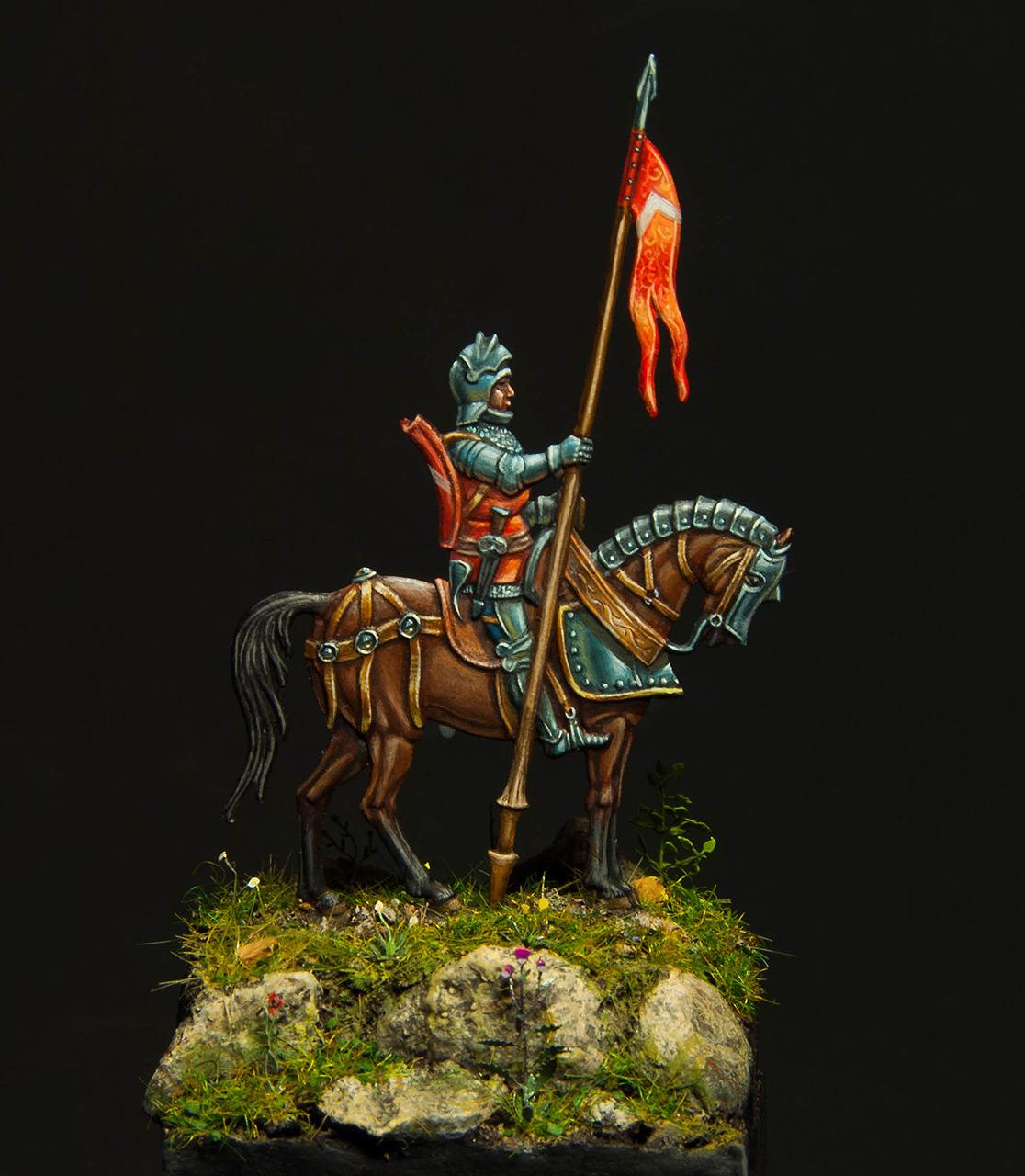 Figures: Knight, XV cent., photo #1