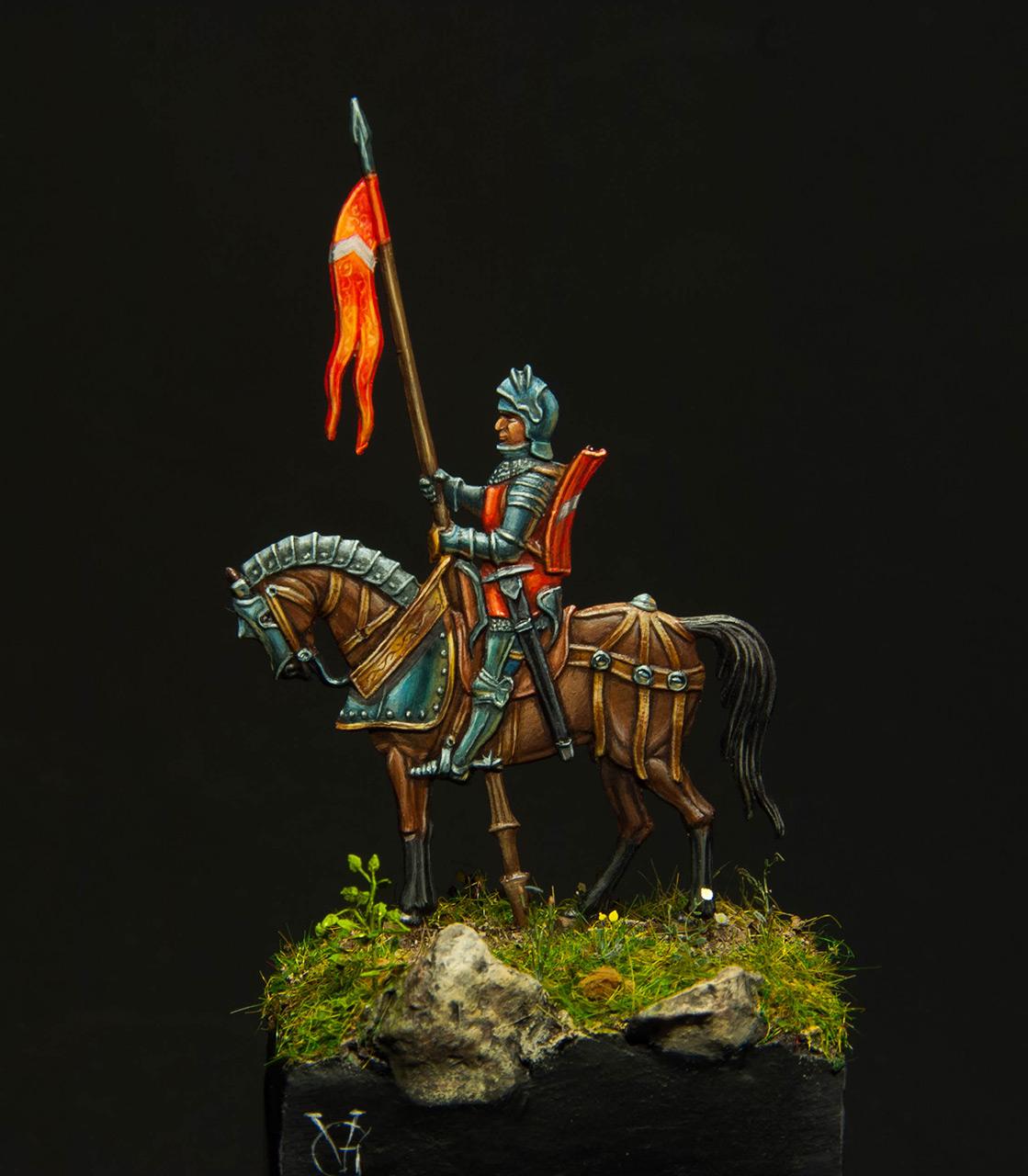 Figures: Knight, XV cent., photo #2