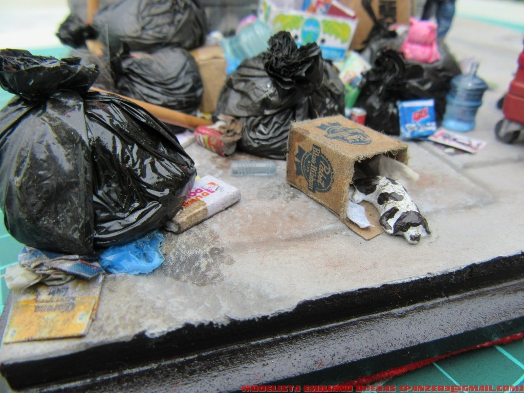 Dioramas and Vignettes: The dirtiest corner of NY, photo #7