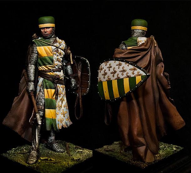 Figures: Italian knight