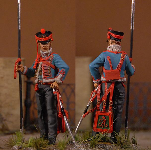 Figures: Hussar, Pavlogradsky regt.