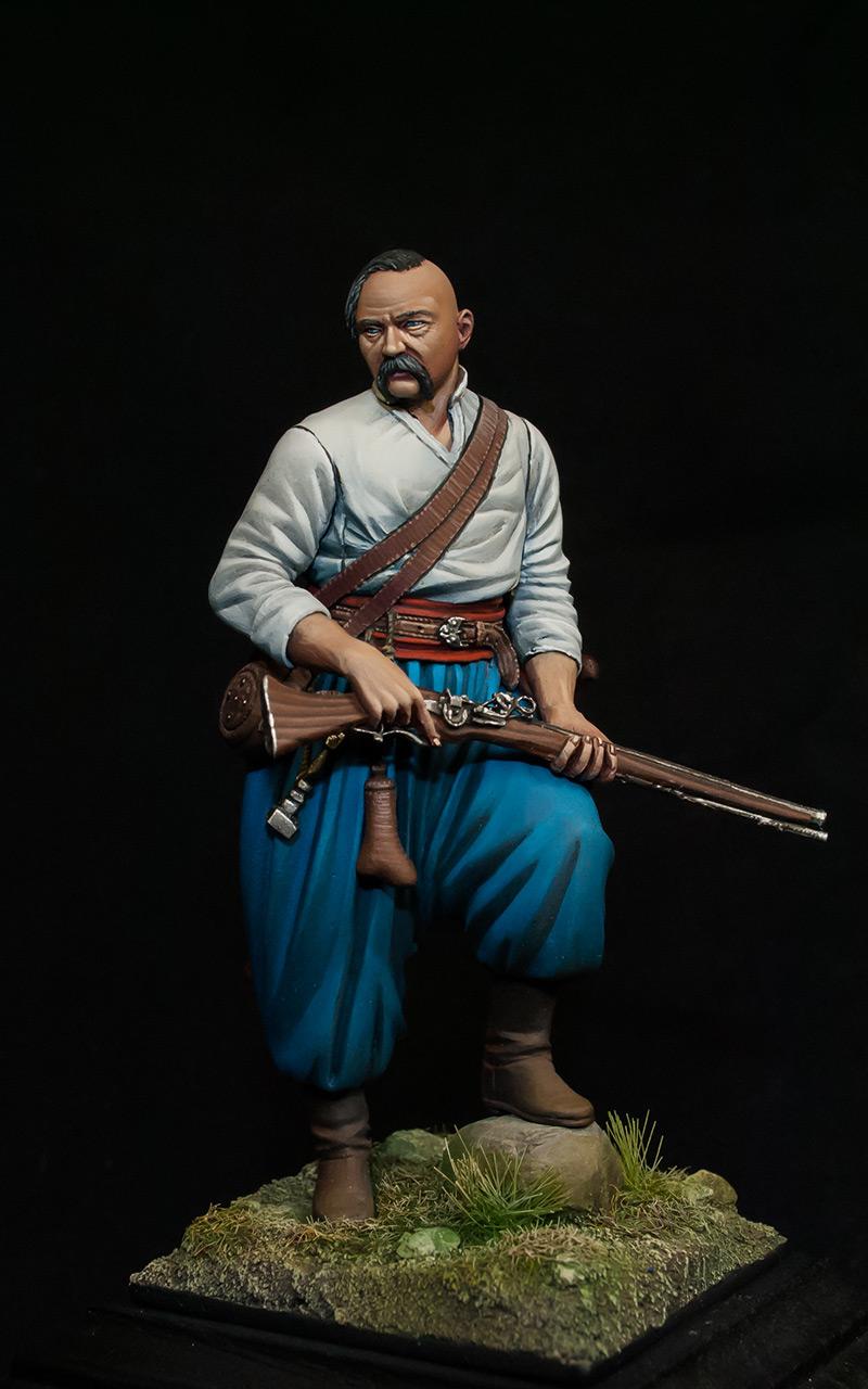 Figures: Zaporozhians cossack, photo #1