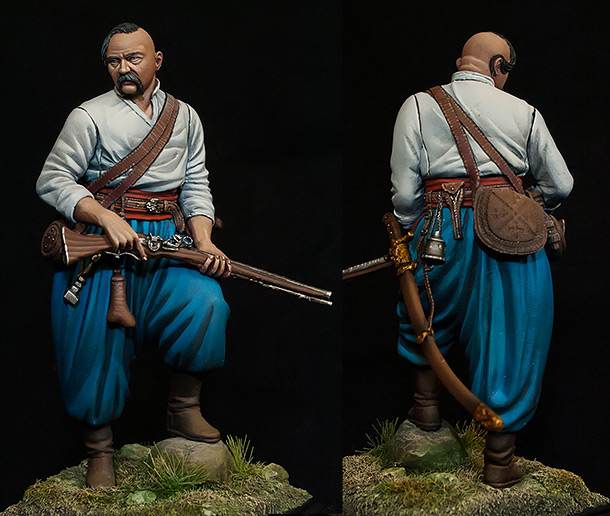 Figures: Zaporozhians cossack