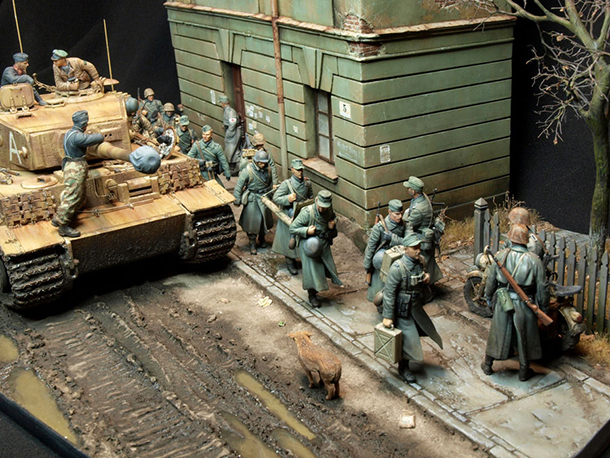 Dioramas and Vignettes: Road to Tarnopol, March-April 1944