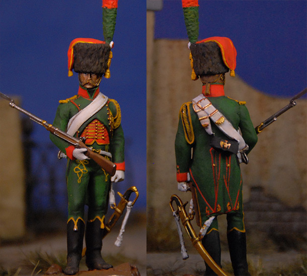 Figures: French Guard chasseur
