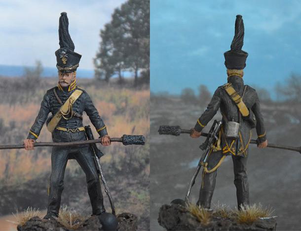 Figures: Gunner, Braunschweig horse artillery