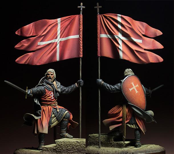 Figures: Hospitalier knight