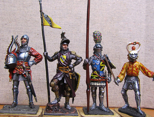 Figures: The Knights