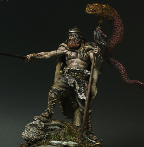 Figures: The Barbarian