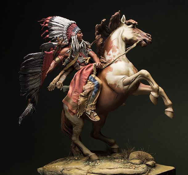 Figures: Lacota warrior