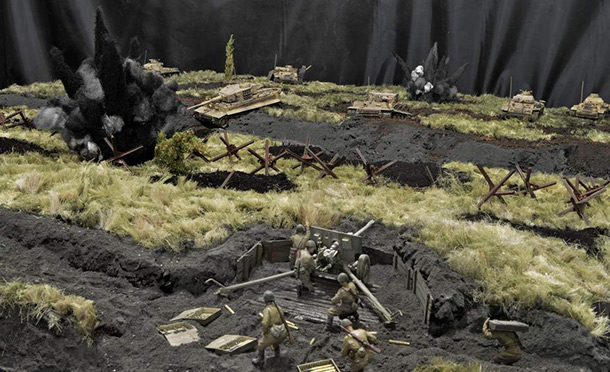 Dioramas and Vignettes: Those who took the deadly fight