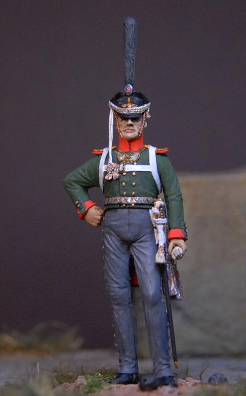 Figures: Senior officer, Selenginsky regt., photo #1