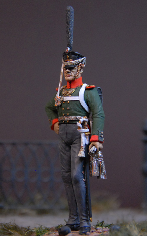 Figures: Senior officer, Selenginsky regt., photo #2