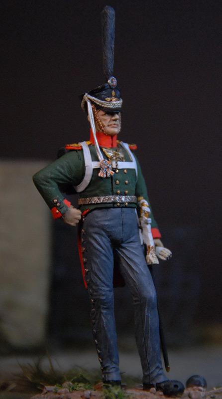 Figures: Senior officer, Selenginsky regt., photo #4