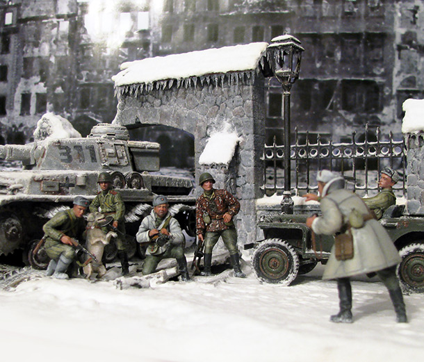 Dioramas and Vignettes: Cold morning