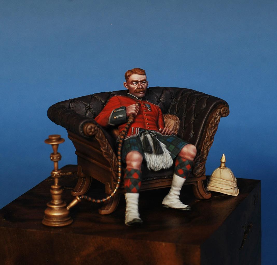 Figures: Scotchman, Victorian era, photo #2