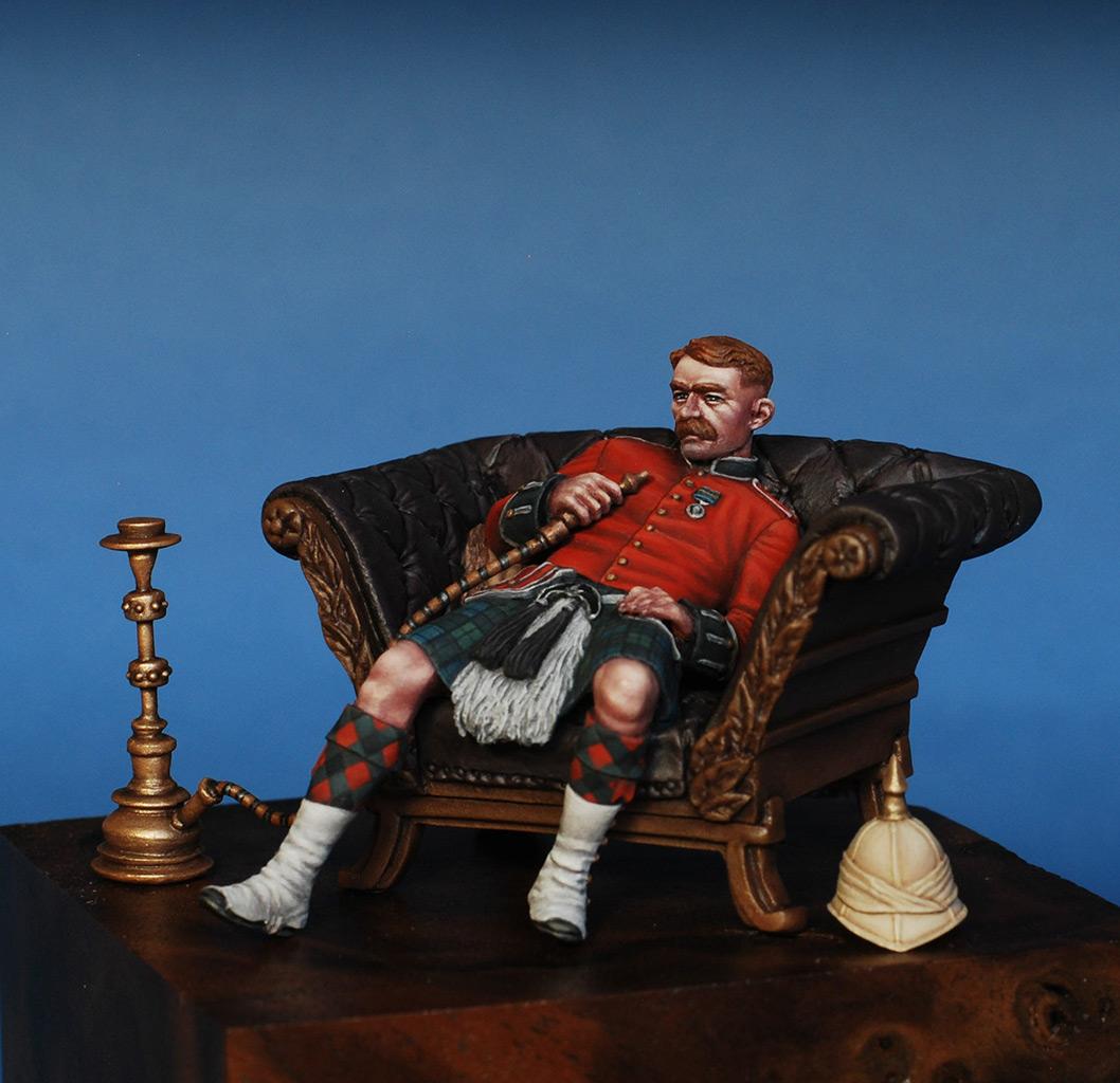 Figures: Scotchman, Victorian era, photo #7
