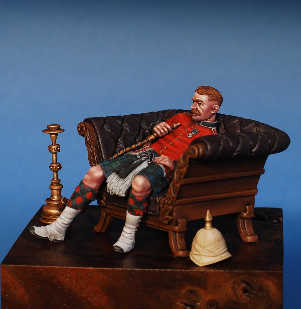 Figures: Scotchman, Victorian era, photo #8
