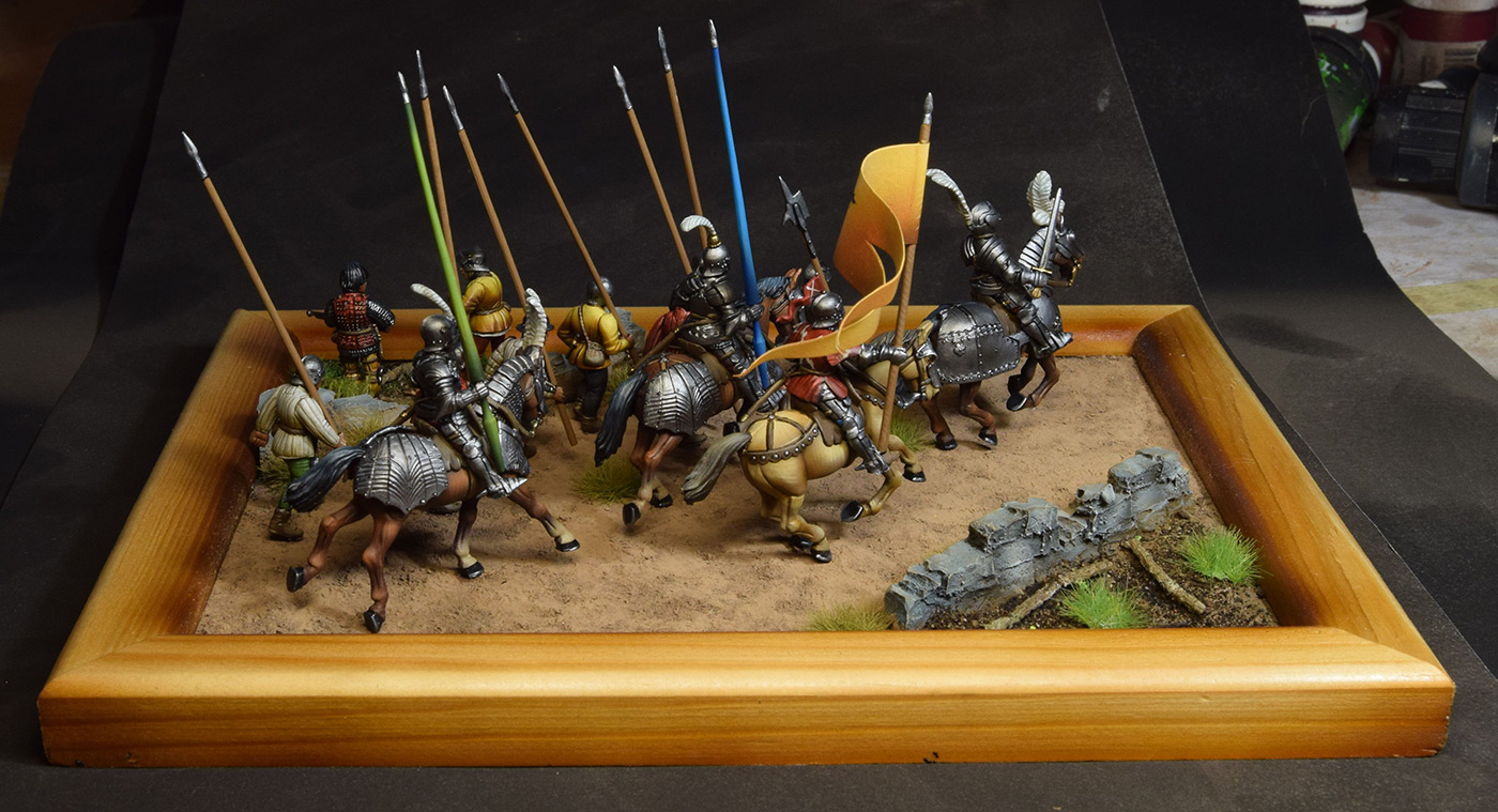 Dioramas and Vignettes: Medieval soldiers at march, photo #3