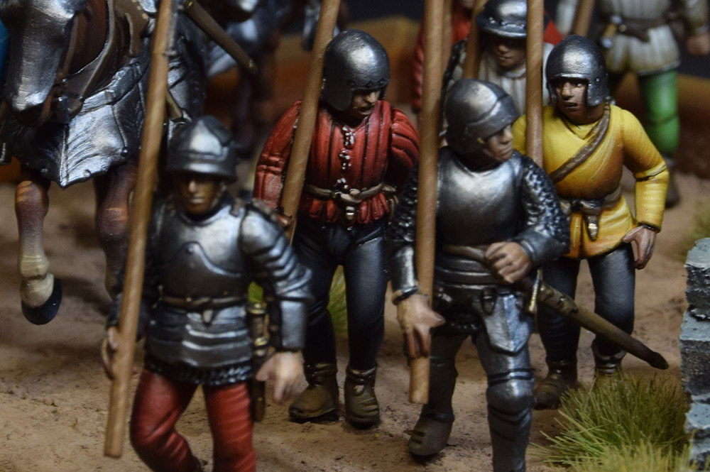 Dioramas and Vignettes: Medieval soldiers at march, photo #5