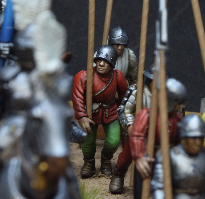 Dioramas and Vignettes: Medieval soldiers at march, photo #8