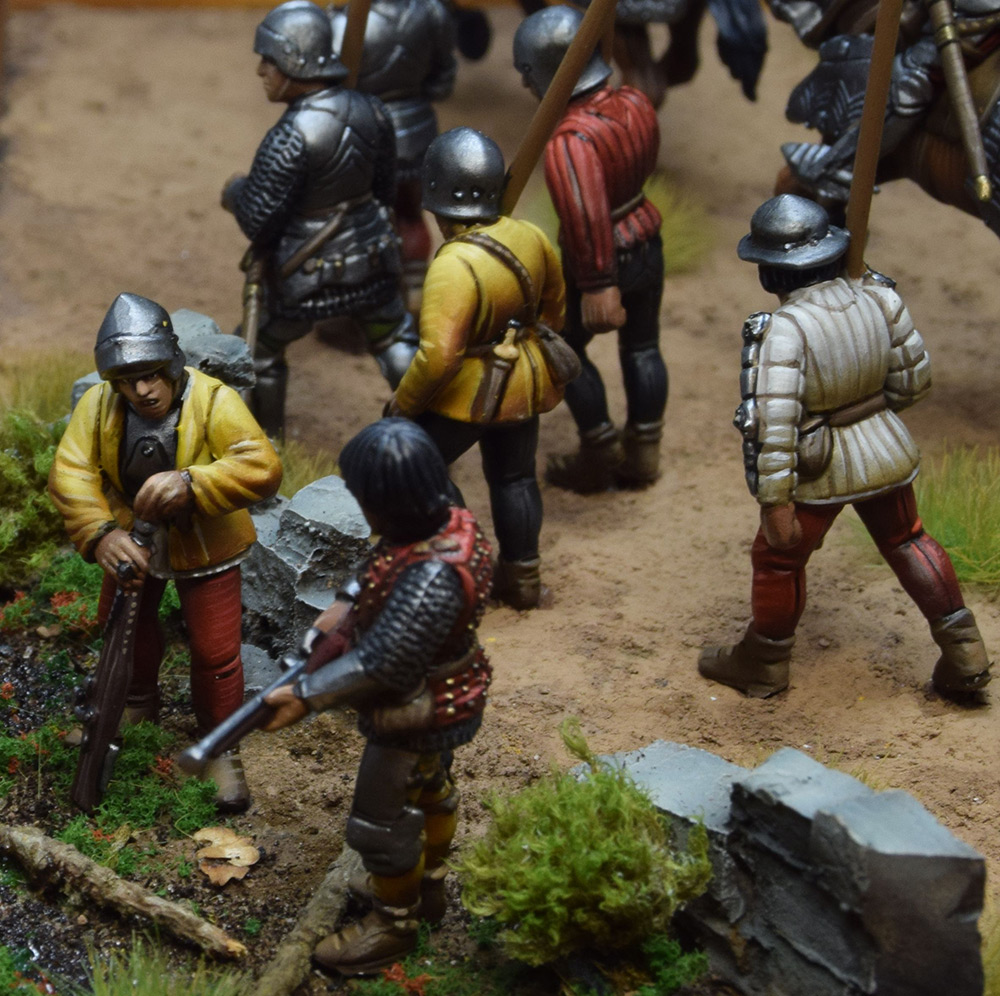 Dioramas and Vignettes: Medieval soldiers at march, photo #9