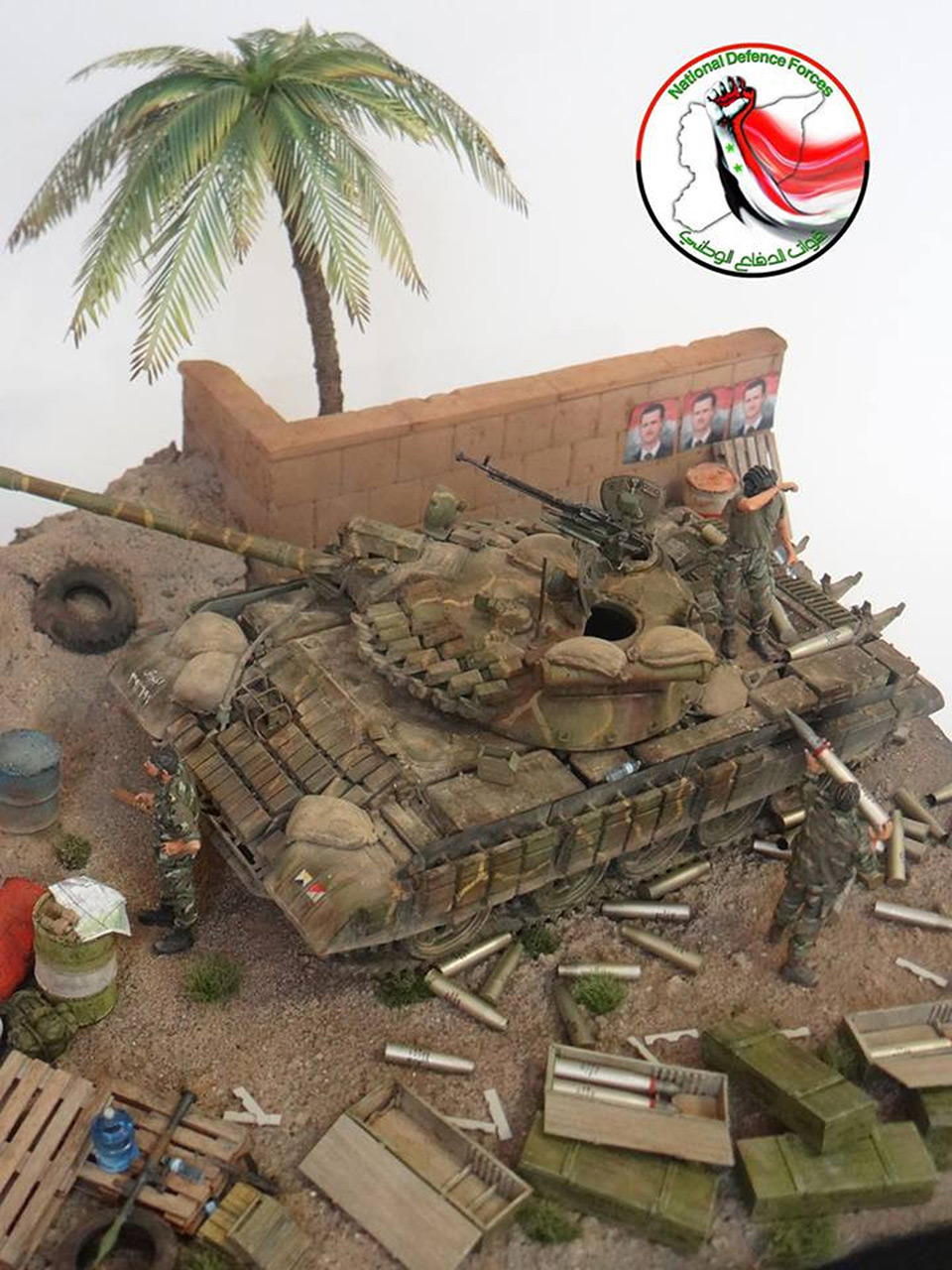 Dioramas and Vignettes: Syrian heat, photo #1