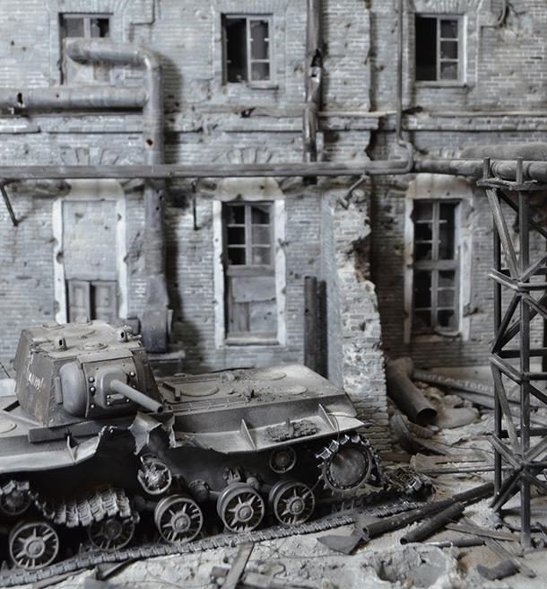 Dioramas and Vignettes: Stalingrad boundary