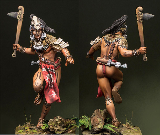 Figures: Maya warrior