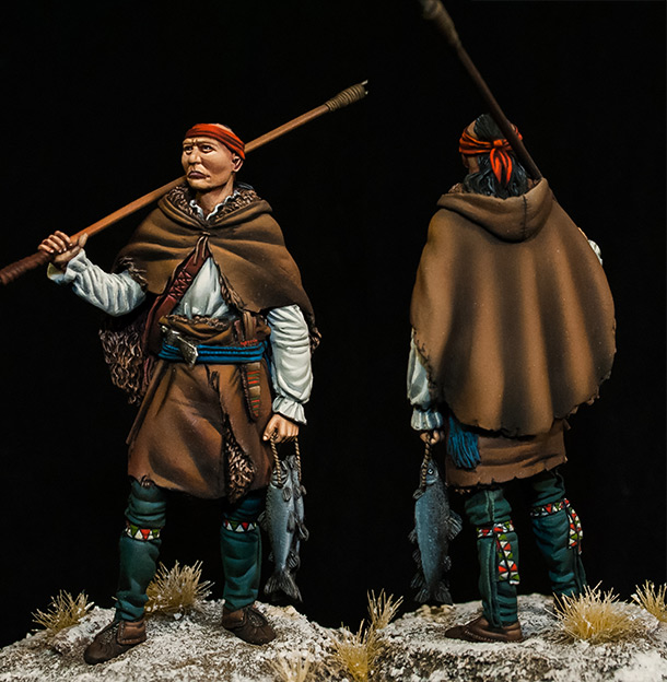 Figures: Iroquois fisher