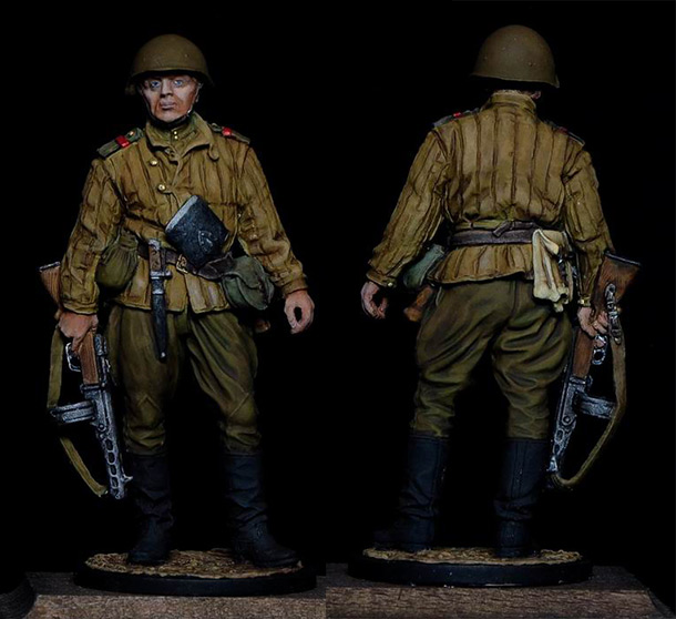 Figures: Sergeant major