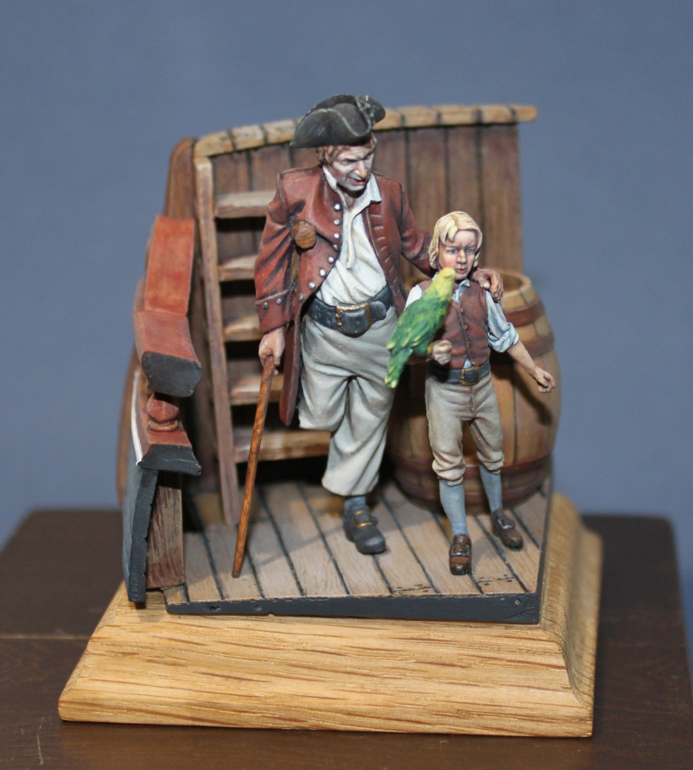 Dioramas and Vignettes: On the board of «Hispaniola», photo #4