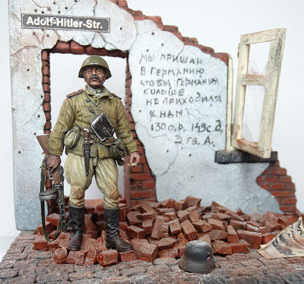Dioramas and Vignettes: Tovarisch Sergeant Major