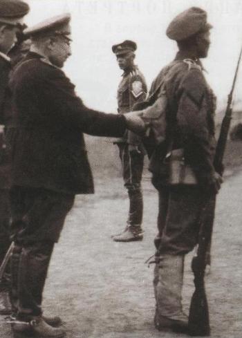 Figures: Kornilov shock regiment, summer 1919, photo #10