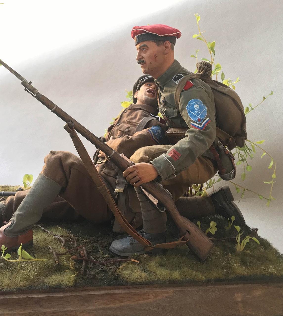 Figures: Kornilov shock regiment, summer 1919, photo #3