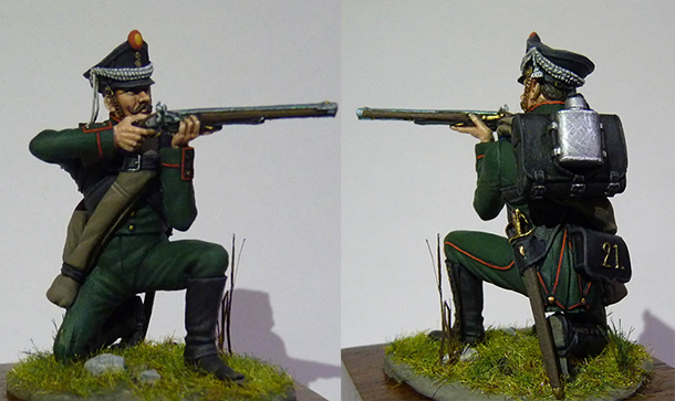 Figures: Chasseur, 21th regt.