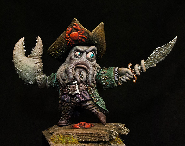 Miscellaneous: Captain Davy Big Claw