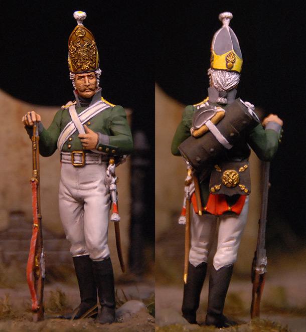 Figures: Grenadier, Selenginsky regt., 1805