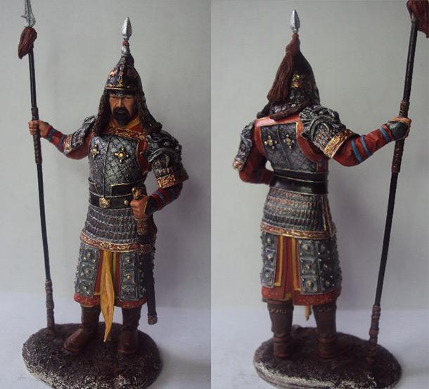 Figures: Corean warrior