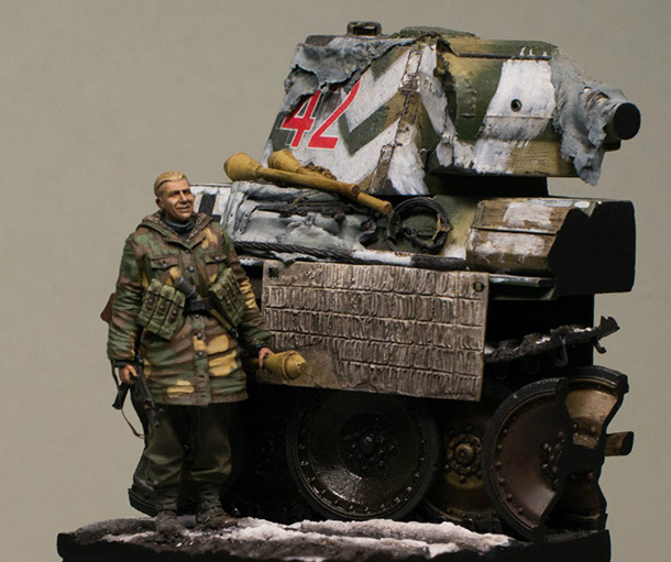 Dioramas and Vignettes: Last man standing