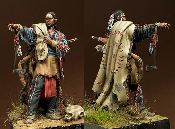 Figures: Sioux warrior