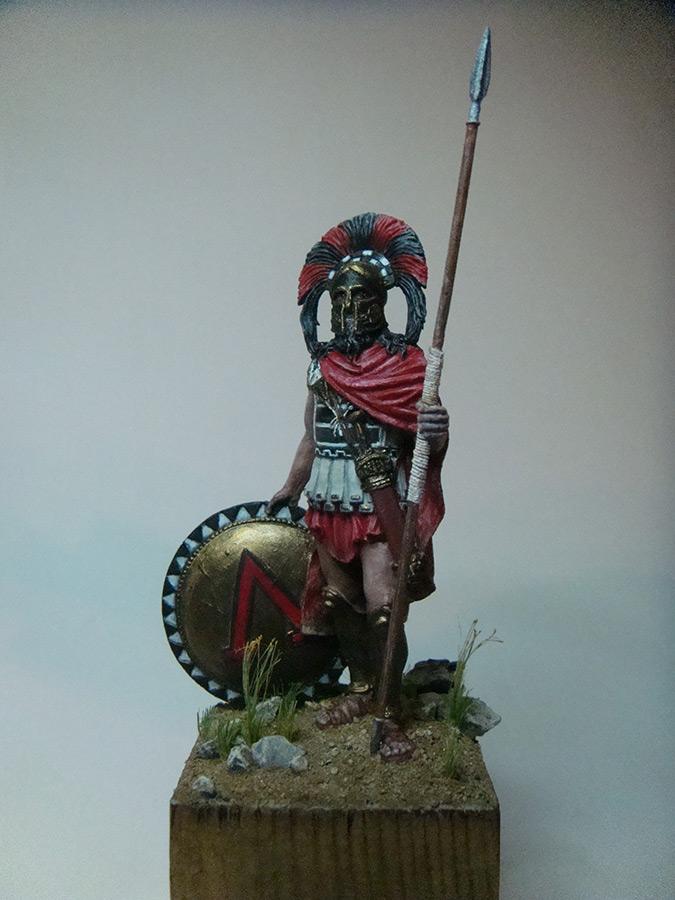 Figures: Spartan warlord, V B.C., photo #1