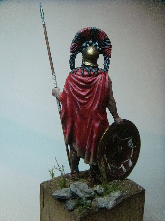 Figures: Spartan warlord, V B.C., photo #2