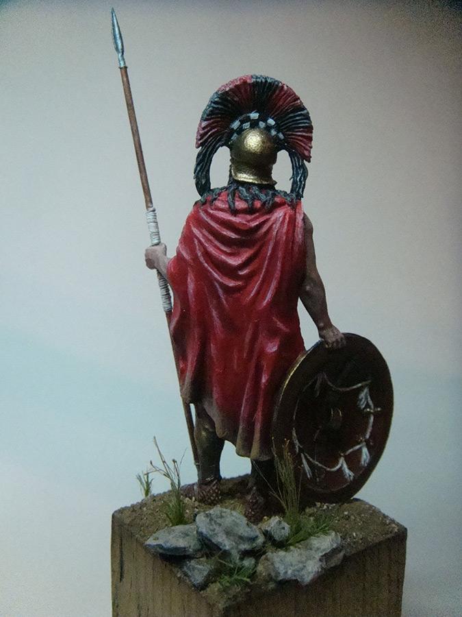 Figures: Spartan warlord, V B.C., photo #2